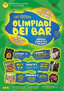 XXII° Edizione Olimpiadi dei Bar WEB