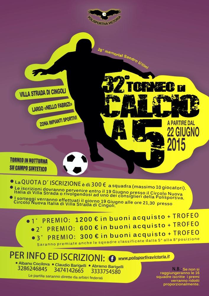 32° Trofeo di Calcio a 5