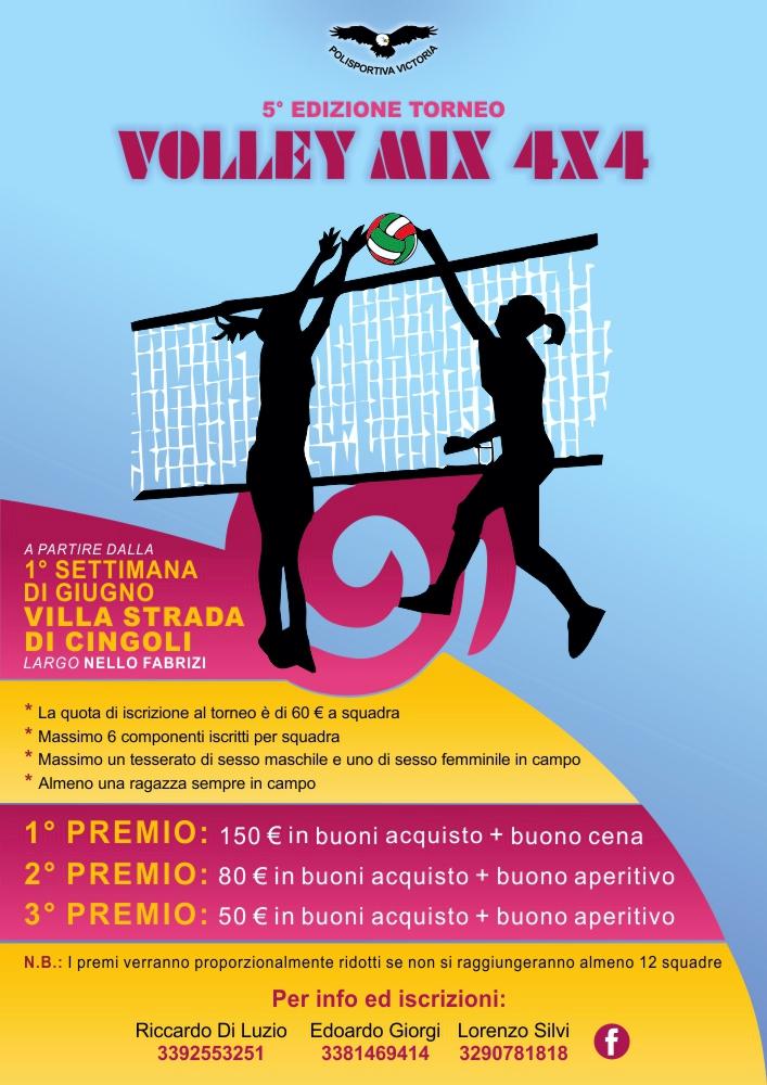 5° Torneo Volley Mix 4x4
